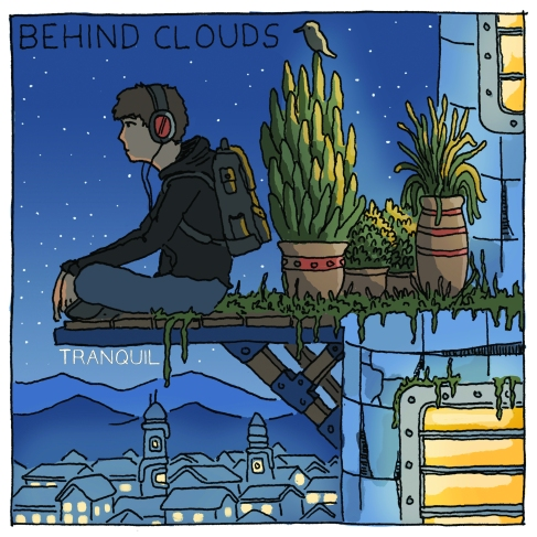 Behind Clouds tranquil-cmyk